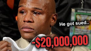 8 Times Floyd Mayweather Got Sued