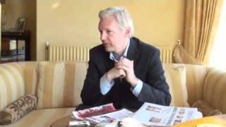 Julian Assange on Prime Minister Manmohan Singh