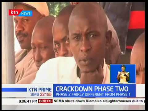 KTN Prime: War on alcohol and drugs at Kiambu county