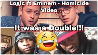 THAT WAS A MEAN DOUBLE !! | LOGIC FT EMINEM X HOMICIDE OFFICIAL VIDEO | REACTION | PLANET BREAKDOWN