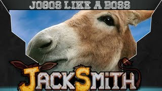 preview picture of video 'Jogos Like A Boss: JackSmith o Burro'