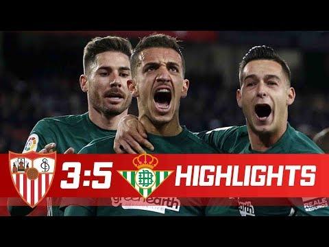 Sevilla vs Betis 3-5 All Goals & Highlights 06/01/2018 HD