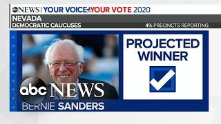 Bernie Sanders projected to win Nevada caucuses