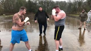 Joe JOYCE vs Patrick NEVIN GYPSY BAREKNUCKLE FIGHT BKB BOXING FULL GENUINE VERSION 2017 YOUNG NAVIN