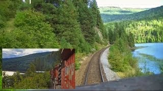 Kootenay Valley Railway (Canadian Pacific) Cabride - Trail to Nelson,