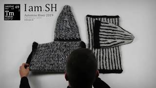 I am SH : Collection AH 2019 069 Thulium : Ensemble long bonnet conique et col tube snood