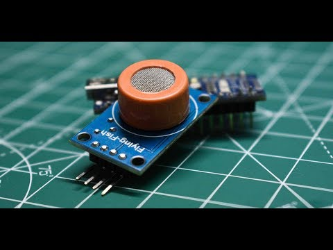 Alcohol Detector using MQ-3 sensor | arduino project