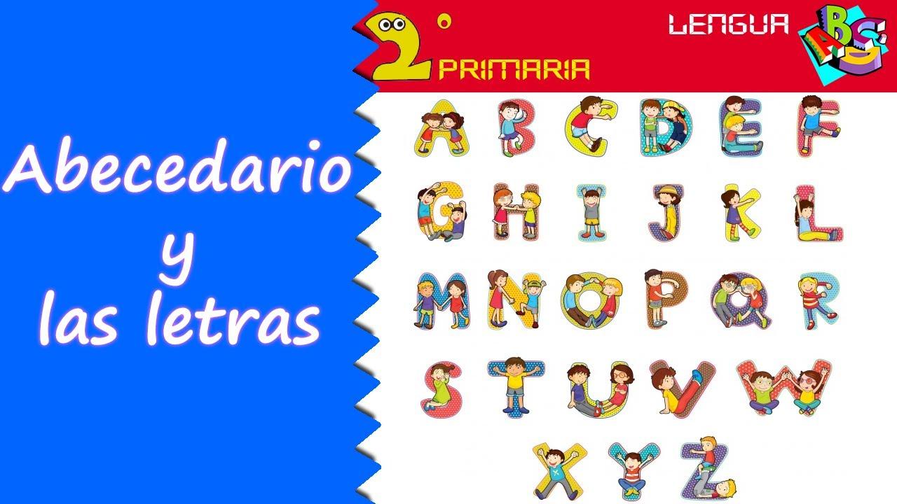 Lengua, 2º Primaria. Tema 2. El abecedario y las letras