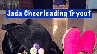 Spring Vlog #9 Jada Cheerleading Tryouts | Mean Girls Do Exist