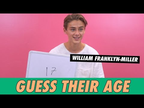 William Franklyn-Miller - Guess Their Age