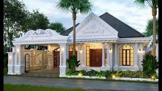 Video Desain Rumah Classic 1 Lantai Bapak Reza di  Lampung