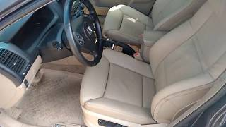 Комфортные сидения от BMW в Хонда Аккорд