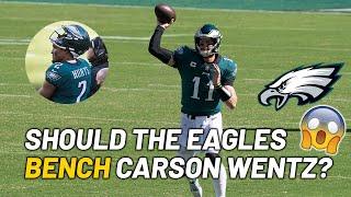 Philadelphia Eagles' Quarterback Crisis - What Happened to Carson Wentz?