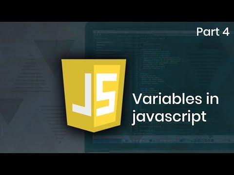 Learn Variables in JavaScript | Part 4 | Eduonix