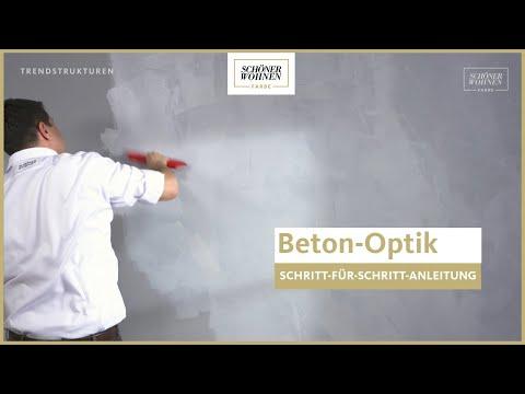 SCHÖNER WOHNEN Trendstruktur Beton-Optik │Urbaner Stil