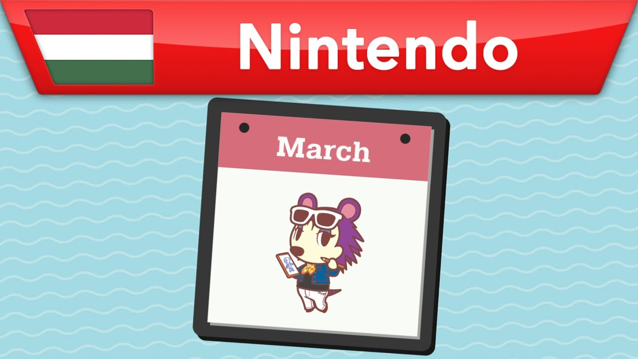 Animal Crossing: New Horizons - A szigeted márciusban! | Nintendo Switch