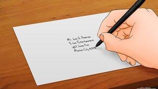 How to addressing envelopes correctly