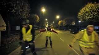 preview picture of video 'Rando roller nocturne à Châteauroux (21/11/2012)'