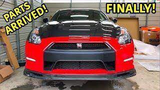 Rebuilding A Wrecked 2013 Nissan GTR Part 3