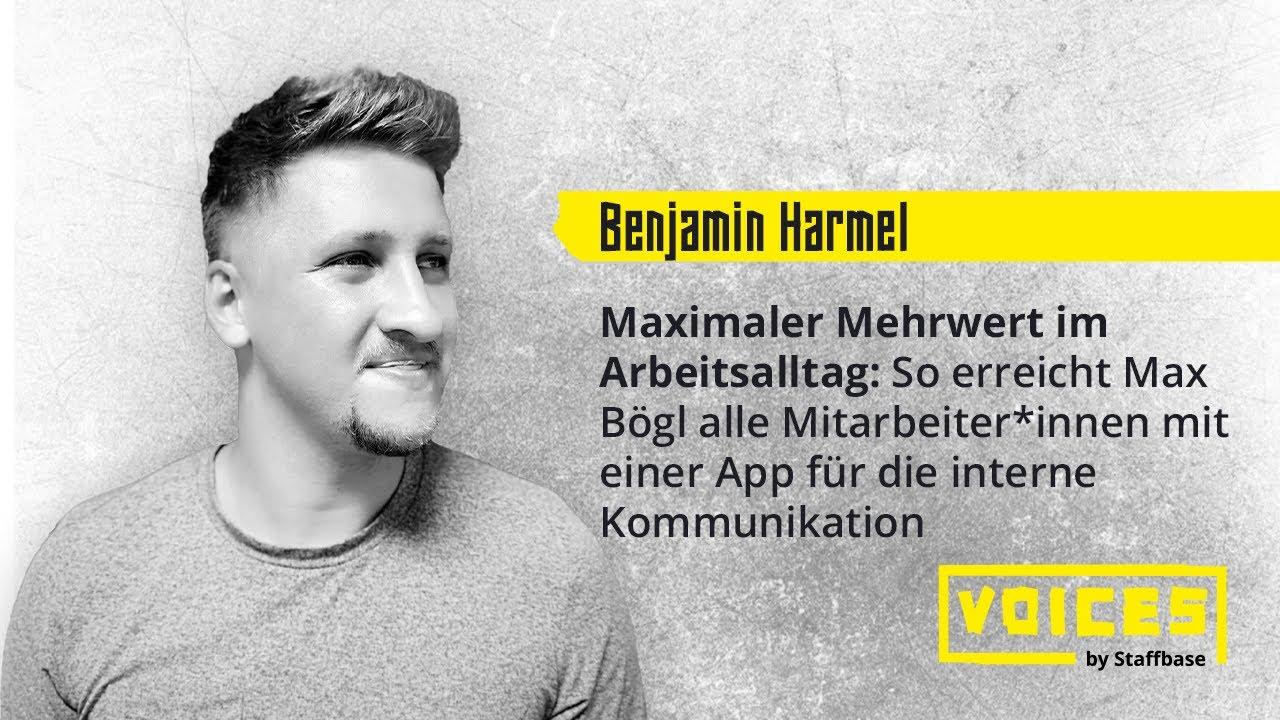 Benjamin Harmel: Maximaler Mehrwert im Arbeitsalltag
