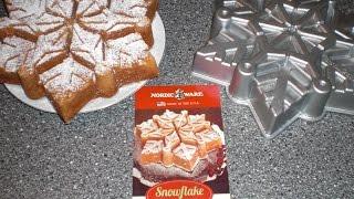 Nordic Ware Backform Schneeflocke