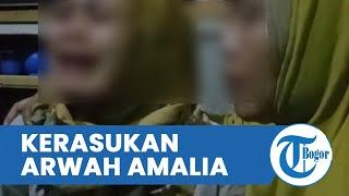 Viral Video Gadis Kerasukan Mengaku Arwah Amalia, Cerita Tragedi Pembunuhan Ibu dan Anak di Subang