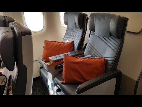 Singapore Airlines Premium Economy A380: SQ Part 2