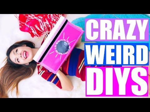 Crazy & Weird DIYS You NEED to Try! | Pinterest DIYS Tested! Glow in the Dark Water!