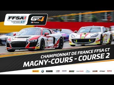 Championnat de France FFSA GT – Magny-Cours – Course 2