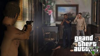 GTA 5 Đi Ăn Trộm Nhà Giàu Bị Chủ Nhà Phát Hiện Gọi Cảnh Sát Và Cái Kết ...