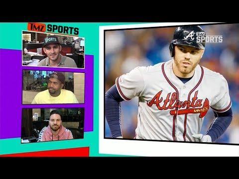 MLB's Freddie Freeman's 2-Year-Old Son Hits Living Room Bombs w/ Amazing Swing | TMZ Sports