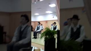 """ГБУ ПНИ 3 """" Танец джентльменов"""" на 8 марта"""