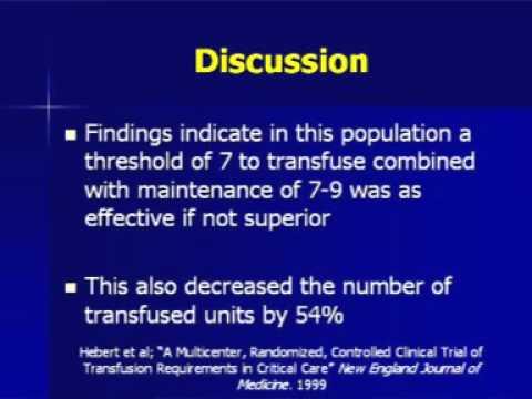 Problemy przy transfuzji krwi