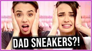 Merrell Twins DAD SNEAKERS CHALLENGE?! | Closet Wars