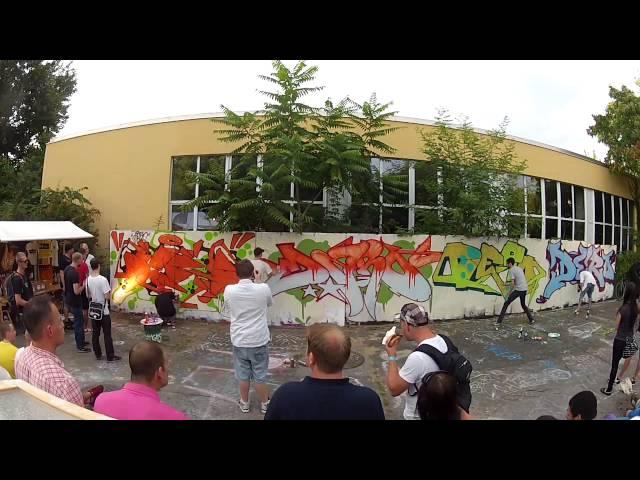 XMAS Wall – Bandits & H.A.D.S