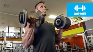 Quick 20-Minute Upper-Body Workout | IFBB Pro Brandan Fokken by Bodybuilding.com