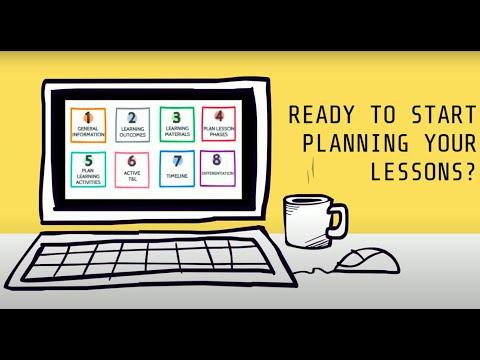Pedagogy Tip Video: Lesson Plan