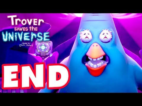 Trover Saves the Universe - Gameplay Walkthrough Part 4