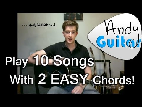 Play TEN guitar songs with two easy chords | Introduction