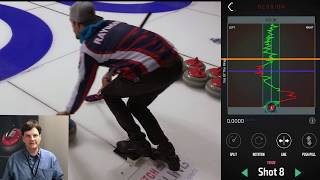 Coach's Corner Live Episode 1: Curling Rock Lined Up in Front of your Hack Foot