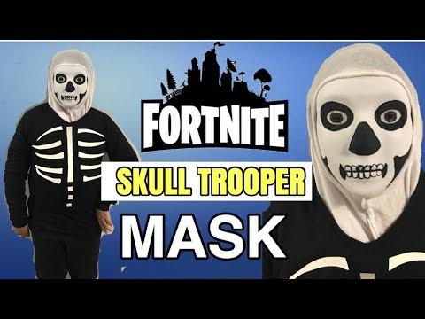 Diy Fortnite Skull Trooper Mask Halloween Costume Famtasticfive