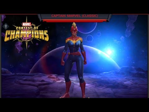 Download Marvel Contest of Champions | Champion Wiki | Captain Marvel (Classic) Mp4 HD Video and MP3