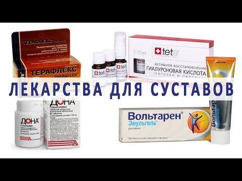 Лекарственные препараты для суставов