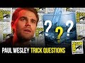 Paul Wesley Answers TRICK Questions at Comic Con 2018