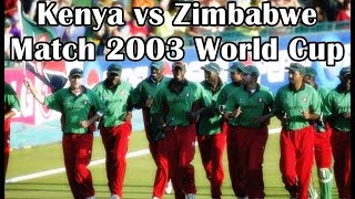 Kenya Upset Zimbabwe And Reach The Semis Of World Cup 2003