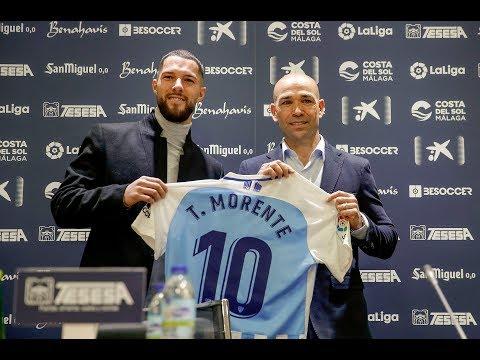 Tete Morente, nuevo refuerzo del Málaga CF