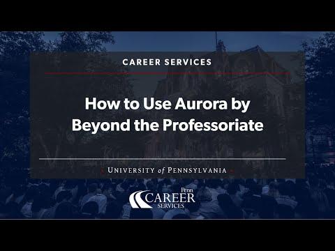 How PhDs/Postdocs Can Use Aurora at Penn thumbnail image
