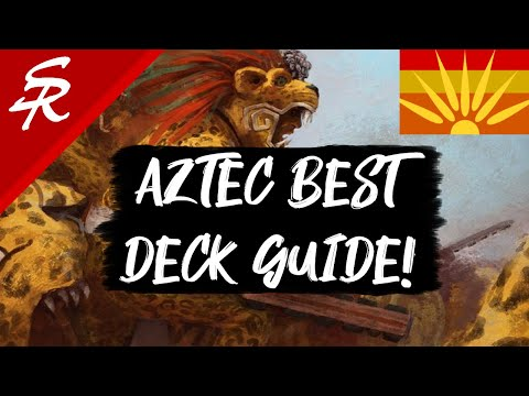 Aztec Best Deck Strategy Guide! Age of Empires III