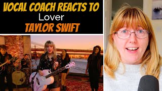 Vocal Coach Reacts To Taylor Swift 'Lover' LIVE Lounge BBC Radio1