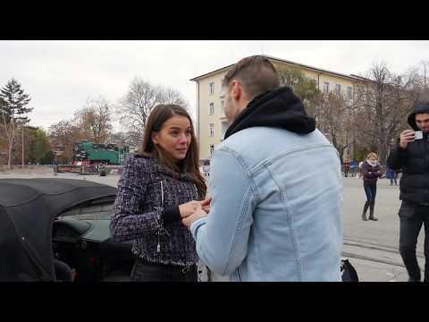 Наум Шопов-младши и Теа заснеха годежа си (ВИДЕО)